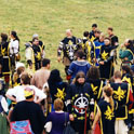 The army of Northshield at Pennsic 27 (1997)