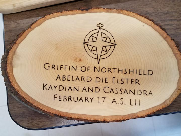Griffin of Northshield, Order of the