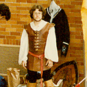 Circa 1984--this man would become a Viscount of Northshield--can you name him?